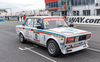 Заключительный этап чемпионата по кольцевым гонкам на классических автомобилях Moscow Classic Grand Prix