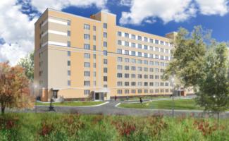 Главгосэкспертиза согласовала проект студенческого общежития университета имени С.О. Макарова